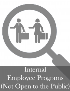 Internal Employee Programs - Organizations