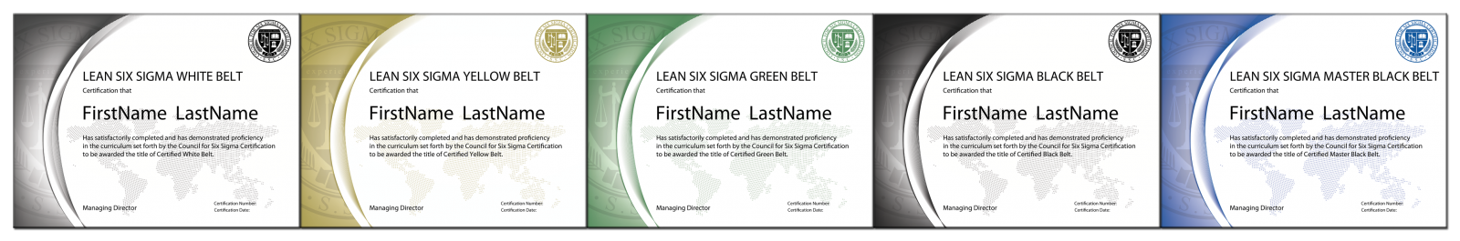 Six sigma certification online lean six sigma accreditation whether you are looking for a lean six sigma black belt certification or a six sigma green belt certification our certifications are the trusted industry 1betcityfo Image collections