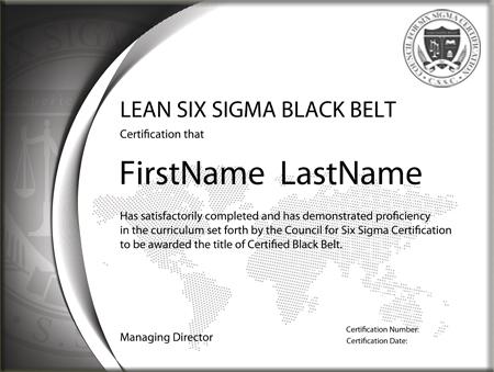 Lean Six Sigma Black Belt: Standard Exam (Single Certification ...