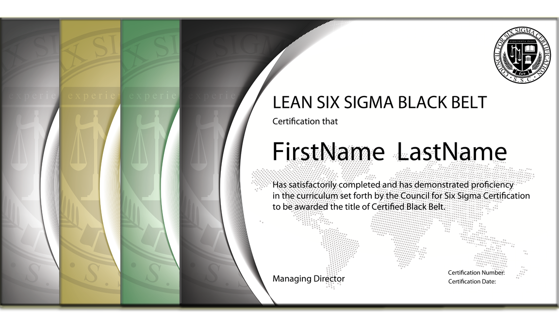 Wooc Self Study Series Lean The Council For Six Sigma Certification